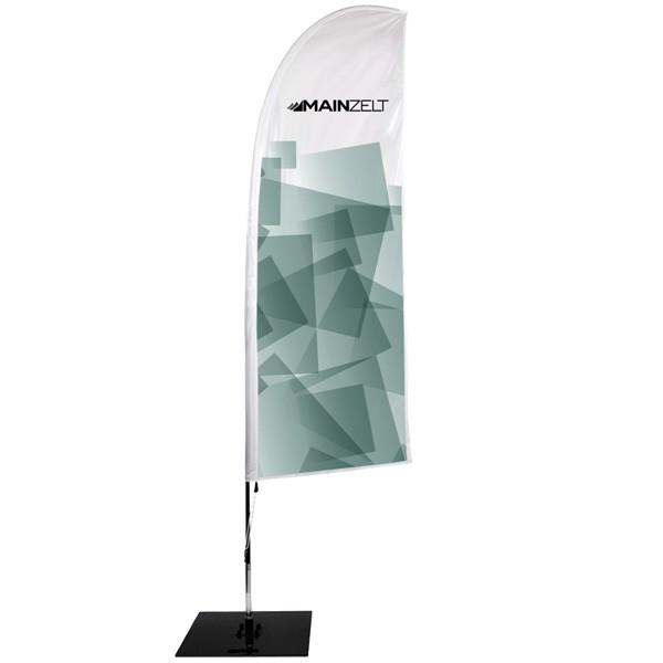 Beachflag Classic 260 inkl. Glasfaser Mast