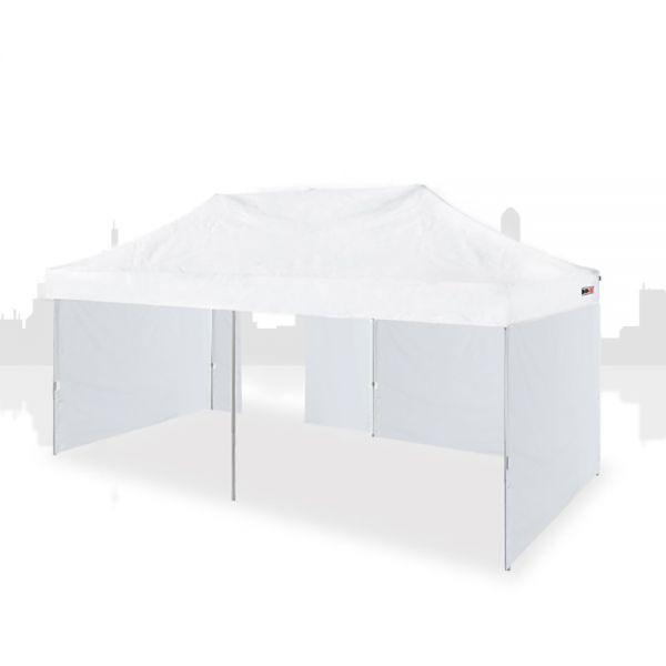 Marktzelt 4x8m (PVC) inkl 3 Seitenwände