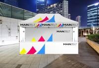 Faltzelt - Faltpavillon Businessline 2x3m mit Druck