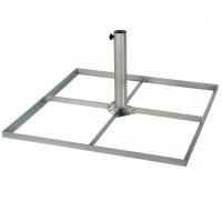Standrahmen - Plattenständer bis Ø 58 mm Mast