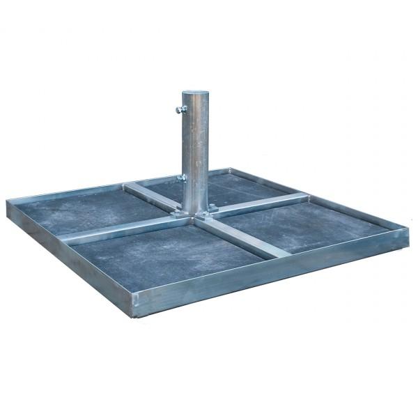Standrahmen - Plattenständer bis Ø 70 mm Mast
