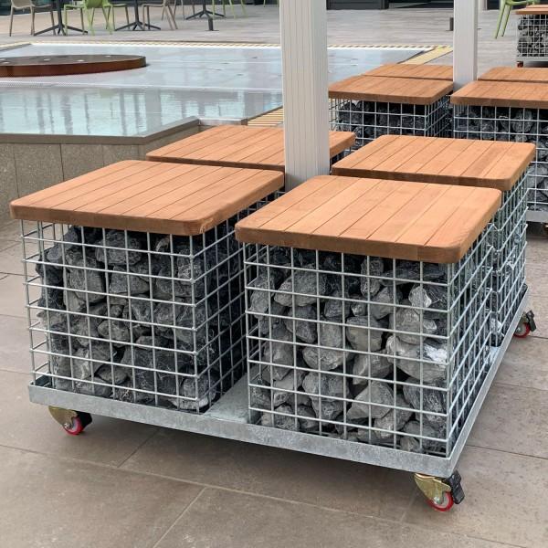 Multi Flex Cube Stahlkorb Ständer