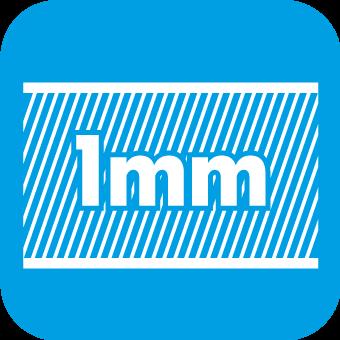 1mm Materialstärke