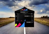 Faltzelt - Faltpavillon Businessline 2x2m mit Druck