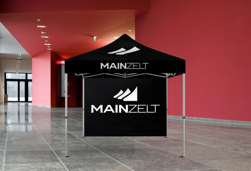 Faltzelt - Faltpavillon Premiumline 3x3m mit Druck