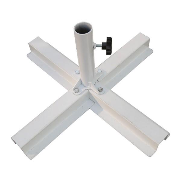 Standkreuz 70 x 70 cm - 6kg - Rohr bis ø 70 mm