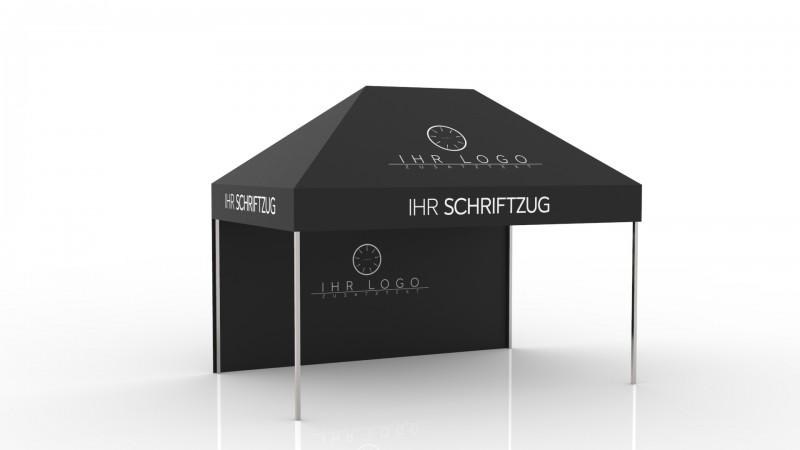Faltzelt - Faltpavillon Steelline 3x6m mit Druck