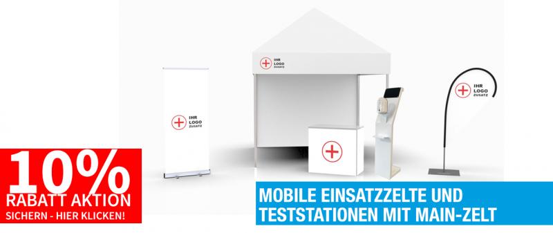 Mobile Einsatz Teststationen