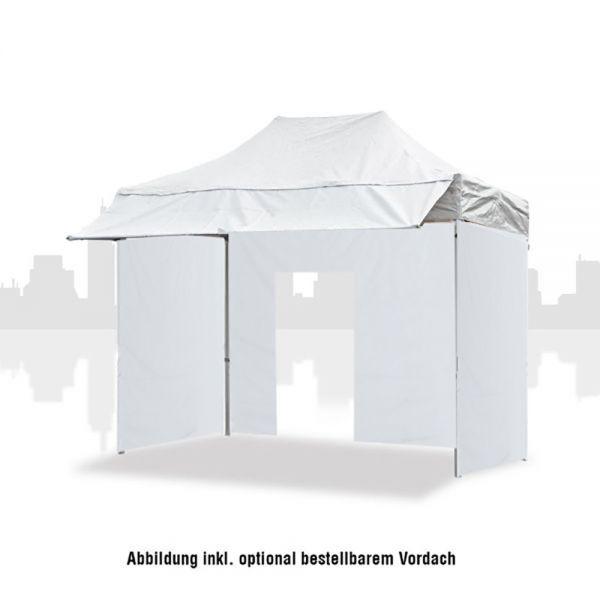 Marktzelt 3x2m (PVC) Business inkl 3 Seitenwände