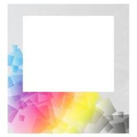 Faltzelt Seitenwand 2 m mit Fenster (einseitiger Sublimationsdruck)
