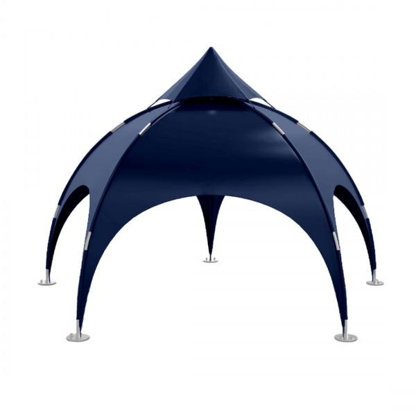 Dome Zelt Klassisch 6m - Blau