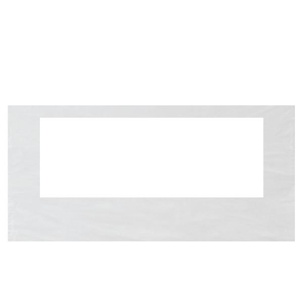 Faltzelt Seitenwand 4,5 m mit Fenster