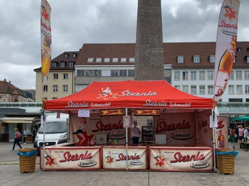 Faltzelte Werbezelte Faltpavillons Ausschank Zelte MAIN-ZELT