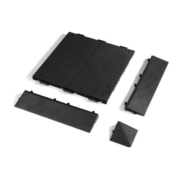 Zeltboden Set für Faltzelt 4x6m Faltpavillon Bodenplatten gelocht