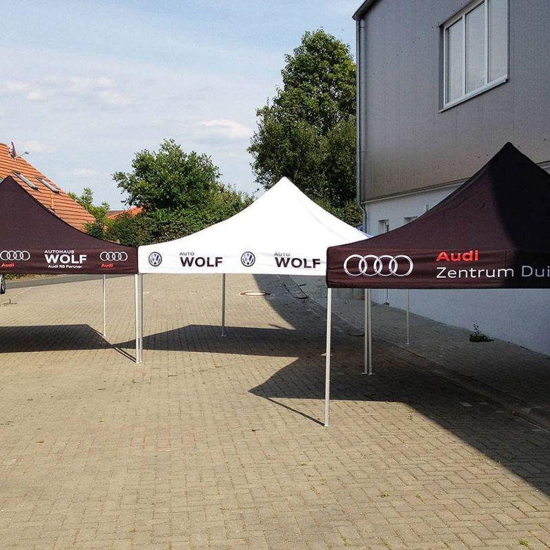 Faltzelt Audi